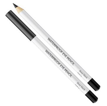Vipera – Waterproof Eye Pencil wodoodporna kredka do linii wodnej oczu Deep Black (1 g)