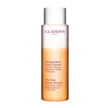 Clarins One-Step Facial Cleanser – dwufazowy płyn do demakijażu twarzy (200 ml)