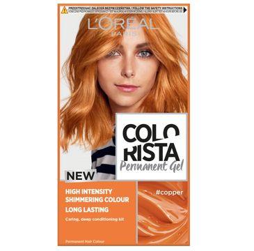 L'Oreal – Paris Colorista Permanent Gel trwała farba do włosów #copper (1 szt.)