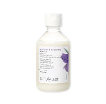 Simply Zen – Age Benefit & Moisturizing Shampoo nawilżający szampon do włosów farbowanych i delikatnie suchych (250 ml)