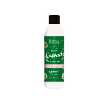 Barwa – Naturalna Awokado Tonik regenerujący odżywczy - każdy rodzaj cery (300 ml)