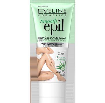 Eveline Smooth Epil 鈥� krem-偶el do depilacji z efektem ch艂odz膮cym (175 ml)