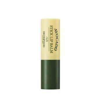 Skinfood – Avocado Stick Lip Balm pielęgnująca pomadka do ust (3.5 g)