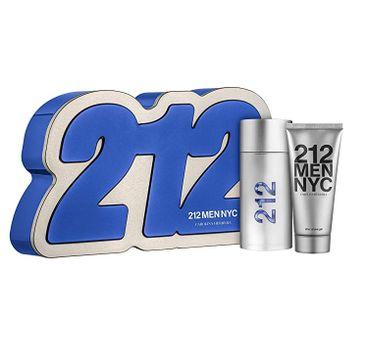 Carolina Herrera 212 Men NYC (zestaw woda toaletowa spray 100 ml + żel pod prysznic 100 ml)