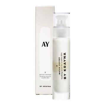 KRAYNA – Ay 2 Water Pepper Soothing Cream For Sensitive Skin kojący naturalny wielofunkcyjny krem do twarzy z rdestem (50 ml)