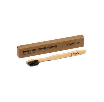 Zew For Men – Bambusowa szczoteczka do zębów dla dzieci 100% biodegradowalna (1 szt.)