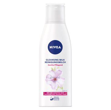 Nivea – Mleczko oczyszczające z olejkiem migdałowym (200 ml)