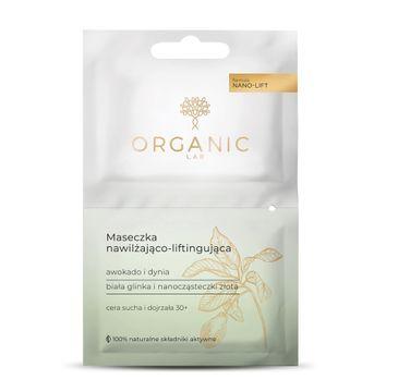 Organic Lab  – maseczka nawilżająco-liftingująca Awokado i Dynia (2 x 6 ml)