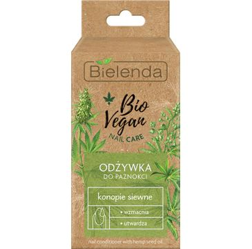 Bielenda – Bio Vegan odżywka do paznokci z konopiami siewnymi (10 ml)