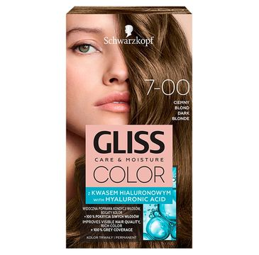 Gliss – Color (krem koloryzujący nr 7-00 Ciemny Blond 1 op.)