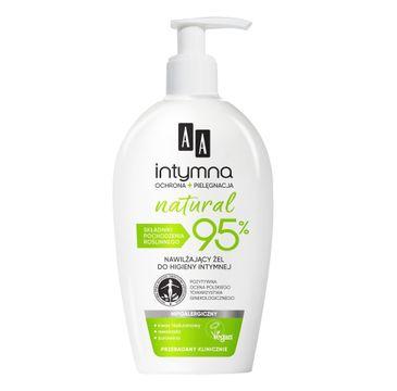 AA – Intymna Natural 95% Nawilżający Żel do higieny intymnej (300 ml)