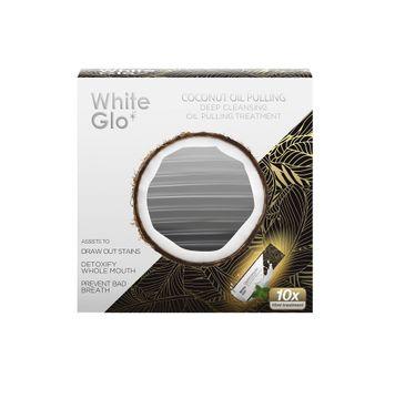 White Glo Coconut Oil Pulling saszetki kokosowe do wybielania zębów 10szt