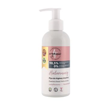 4organic – Hialuronowy płyn do higieny intymnej (200 ml)