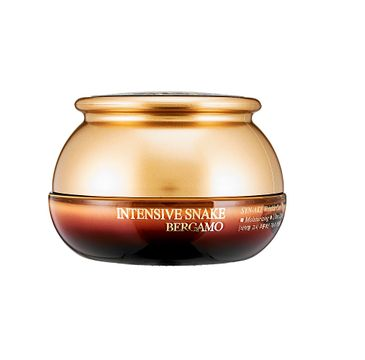 Bergamo Intensive Snake SYN-AKE Wrinkle Care Cream przeciwzmarszczkowy krem do twarzy z ekstraktem z jadu węża 50ml