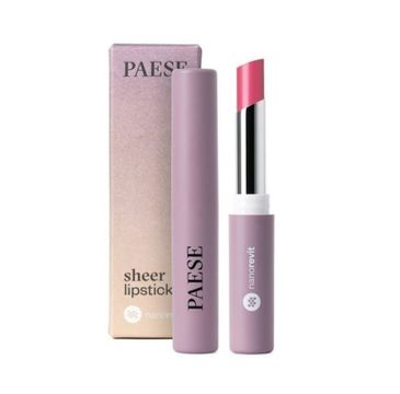 Paese Nanorevit Sheer Lipstick – pomadka do ust 31 Natural Pink (4.3 g)