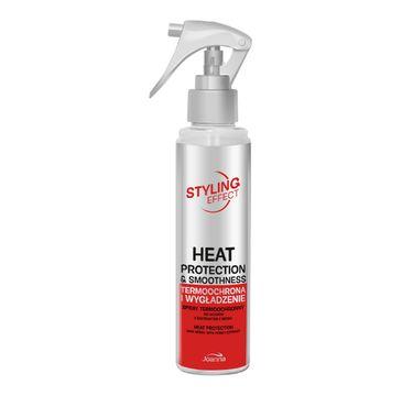 Joanna Styling Effect Spray do włosów  termoochrona i wygładzenie 150 ml
