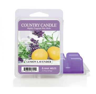 Country Candle – Wax wosk zapachowy Lemon Lavender (64 g)