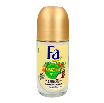 Fa Amazonia Spirit dezodorant roll-on damski 50 ml