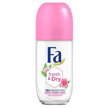 Fa Fresh & Dry 48h - dezodorant roll-on Peony Sorbet (50 ml)