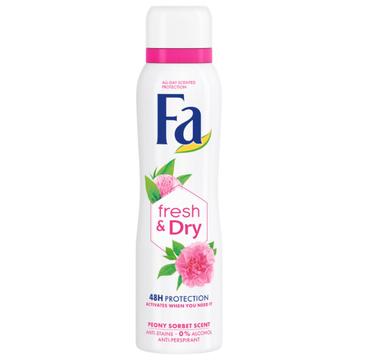 Fa Fresh & Dry 48h antyperspirant spray Peony Sorbet (150 ml)