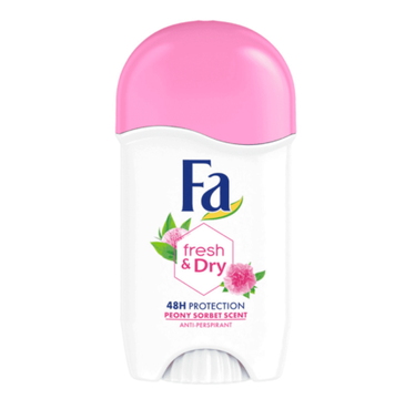 Fa Fresh & Dry 48h antyperspirant sztyft Peony Sorbet (50 ml)