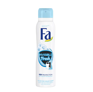 Fa Invisible Fresh 48h antyperspirant spray Lily Of The Valley (150 ml)