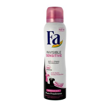 Fa Invisible Sensitive dezodorant w sprayu damski 150 ml
