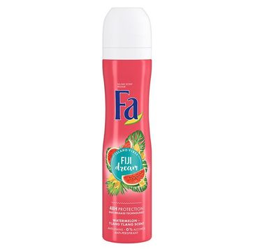 Fa Island Vibes Fiji Dream Antiperspirant antyperspirant w sprayu Watermelon Ylang Ylang Scent (250 ml)