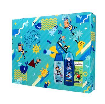 Fa Kids zestaw prezentowy Pirate szampon 2w1 Schauma 250 ml + żel pod prysznic Fa 250 ml + pasta Vademecum 50 ml