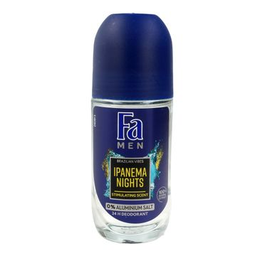 Fa Men Ipanema Nights dezodorant roll-on męski 50 ml
