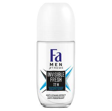 Fa Men Xtreme dezodorant roll-on Invisible Fresh (50 ml)