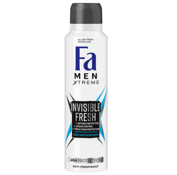 Fa Men Xtreme dezodorant spray Invisible Fresh (150 ml)
