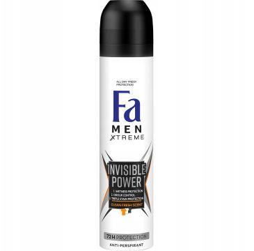Fa Men Xtreme Invisible Power Anti-Perspirant antyperspirant w sprayu dla mężczyzn (250 ml)