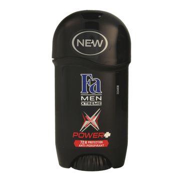 Fa Men Xtreme Power+ dezodorant w sztyfcie męski ochrona przez 72 h 50 ml
