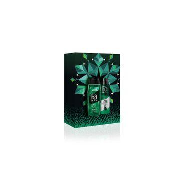 Fa Men Zestaw prezentowy Pure Hemp Żel pod prysznic 250ml+Dezodorant spray 150ml (1 szt.)