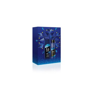 Fa Men Zestaw prezentowy Sport Active Żel pod prysznic 250ml+Dezodorant spray 150ml (1 szt.)