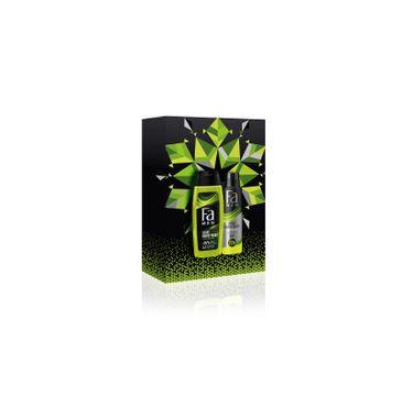 Fa Men Zestaw prezentowy Sport Energy Boost Żel pod prysznic 250ml+Dezodorant spray 150ml (1 szt.)