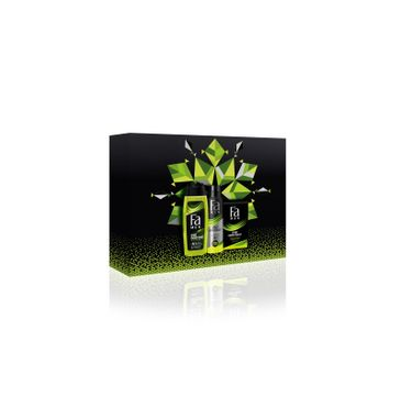 Fa Men Zestaw prezentowy Sport Energy Boost Żel pod prysznic 250ml+ Dezodorant spray 150ml+ Woda po goleniu 100ml (1 szt.)