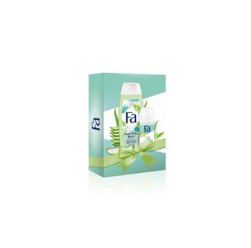 Fa Zestaw prezentowy Aloe V Żel pod prysznic 250ml+Roll-on 50ml (1 szt.)