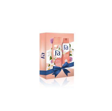 Fa Zestaw prezentowy Divine Moments Żel pod prysznic 250ml+ Dezodorant spray 150ml (1 szt.)