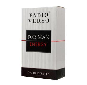 Fabio Verso Energy for Man woda toaletowa 100 ml