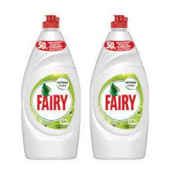 Fairy Płyn do mycia naczyń Jabłko (2 x 900 ml)