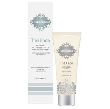 Fake Bake The Face Anti-Aging Self-Tanning Lotion samoopalacz w kremie do twarzy (60 ml)