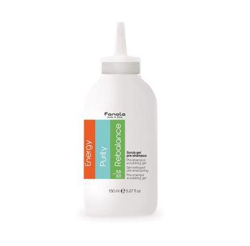 Fanola Scrub Gel Pre-Shampoo żel peelingujący do skóry głowy (150 ml)