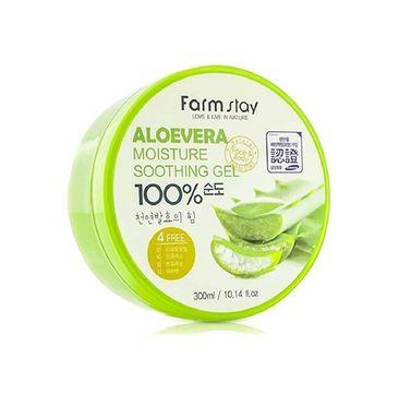 Farm Stay – Aloevera Moisture Soothing Gel koreański aloesowy żel (300 ml)