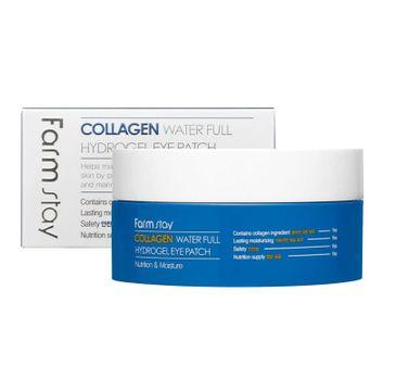 Farm Stay – Collagen Water Full Hydrogel Eye Patch kolagenowe hydrożelowe płatki pod oczy (60 szt.)