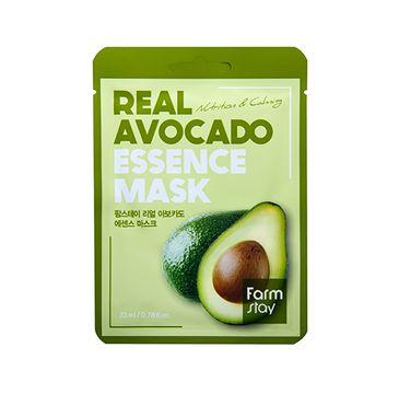 Farm Stay – Real Avocado Essence Mask przeciwstarzeniowa maseczka w płachcie z ekstraktem z awokado (23 ml)