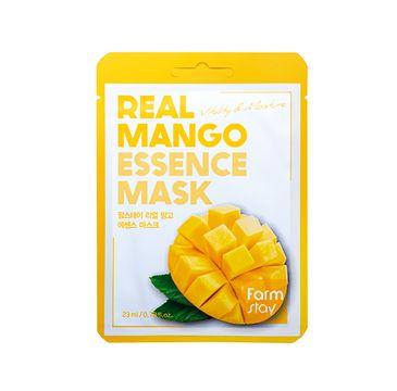 Farm Stay – Real Mango Essence Mask witalizująca maseczka w płachcie z ekstraktem z mango (23 ml)
