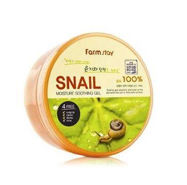 Farm Stay – Snail Moisture Soothing Gel koreański żel ze śluzem ślimaka (300 ml)