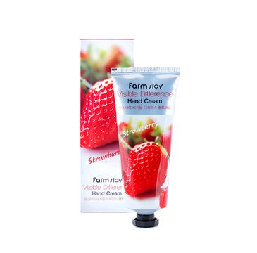 Farm Stay – Visible Difference Hand Cream krem do rąk Truskawka (100 ml)